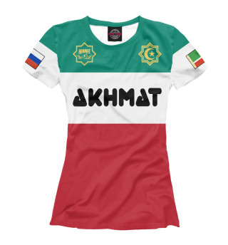 Футболка женская Akhmat Chechnya