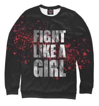 Одежда с принтом Fight like a Girl (872047)