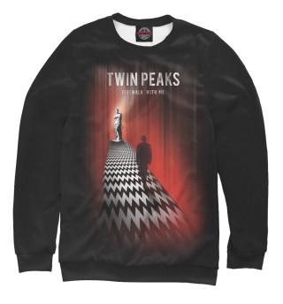 Одежда с принтом Tween peaks