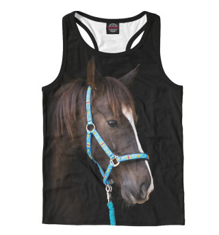 Майка борцовка мужская Лошадь (360)