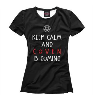 Футболка женская Coven is coming
