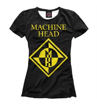 Футболка женская Machine Head (6074)