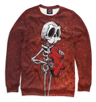 Одежда с принтом Скелеты