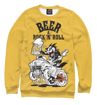 Одежда с принтом Beer & Rock 'n' Roll