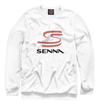 Одежда с принтом Senna Logo