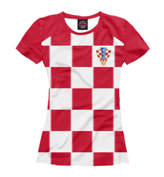 Футболка женская Хорватия