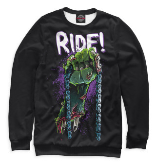 Одежда с принтом Ride!