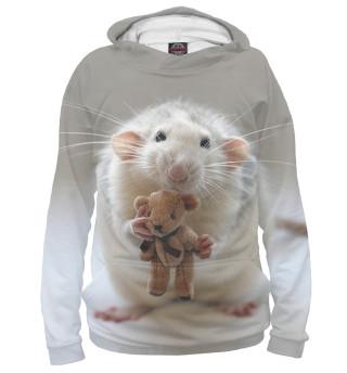 Худи женское Крыса