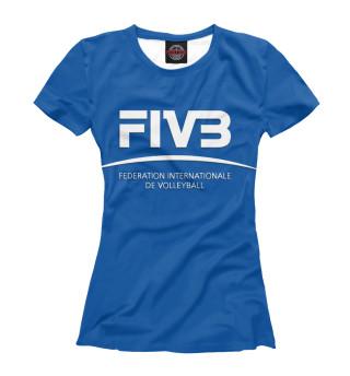 Футболка женская FIVB
