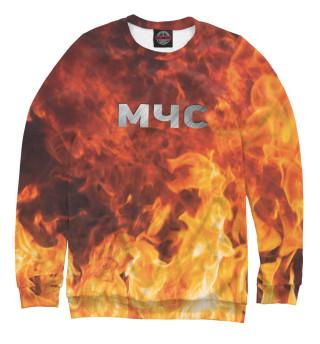 Одежда с принтом МЧС - Пожарный