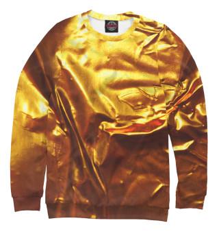 Одежда с принтом Золотая фольга