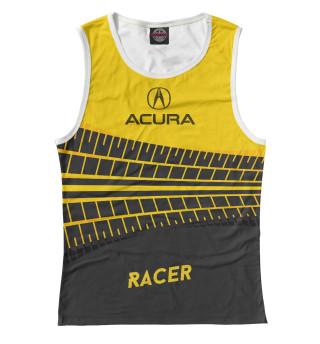 Майка женская Acura racer