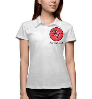 Поло женское Foo Fighters (9162)