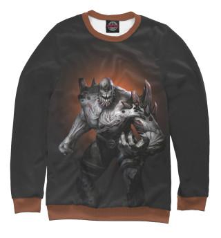 Одежда с принтом Doomsday