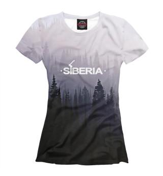 Футболка женская SIBERIA