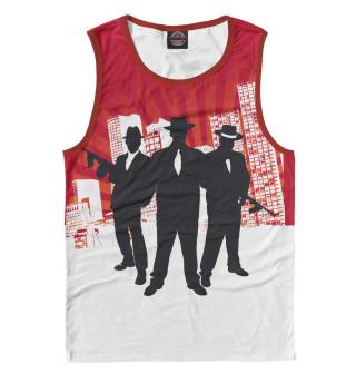 Майка мужская Mafia (7105)