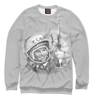 Одежда с принтом Юрий Гагарин Восток 1