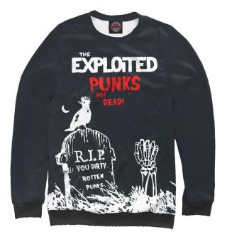 Одежда с принтом The exploited (410404)