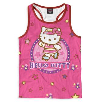 Майка борцовка мужская Hello Kitty (5620)
