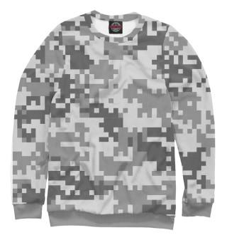 Одежда с принтом Camo digital gray