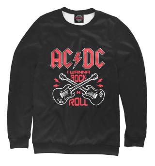Одежда с принтом AC DC (392362)