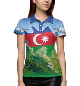Поло женское Горы Азербайджана