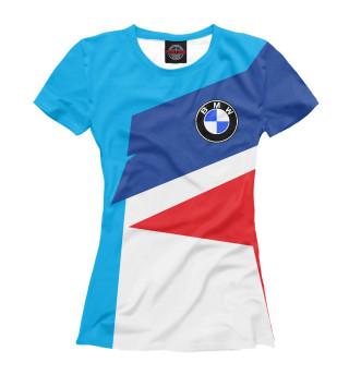 Футболка женская BMW (5298)