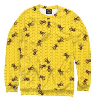 Одежда с принтом Пчелы в сотах