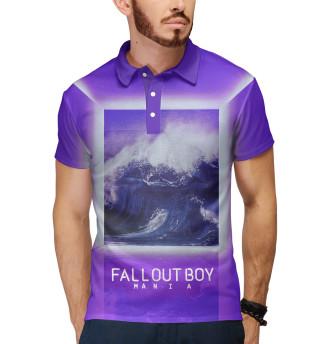Поло мужское Fall Out Boy MANIA (9616)