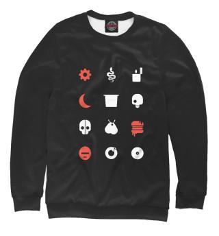 Одежда с принтом Любовь, смерть и роботы (955711)