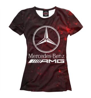 Футболка женская Mersedes-Benz AMG (3409)