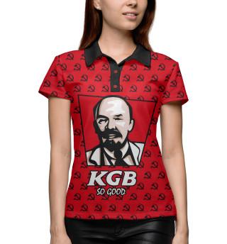 Поло женское KGB So Good