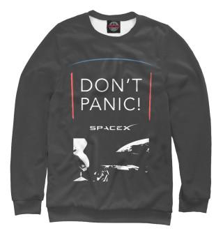 Одежда с принтом Tesla Starman Don't Panic