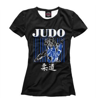 Футболка женская Дзюдо (8850)