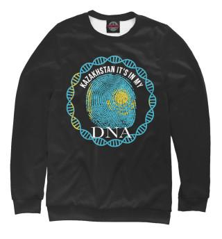 Одежда с принтом Казахстан в ДНК