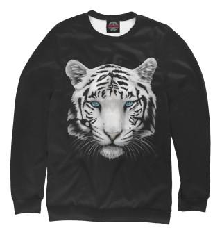 Одежда с принтом Белый тигр