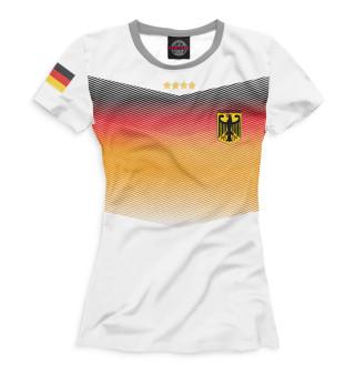 Футболка женская Сборная Германии
