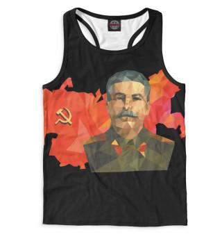 Майка борцовка мужская Сталин (6272)