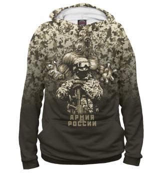 Худи женское Российская армия