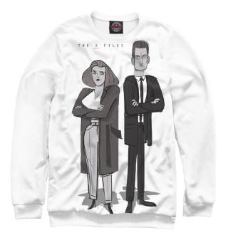 Одежда с принтом Малдер и Скалли (597414)