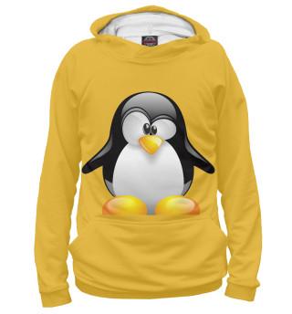 Худи женское Пингвины (3781)