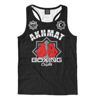 Майка борцовка мужская Akhmat Boxing Club