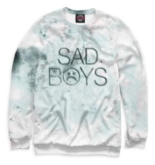 Одежда с принтом Sad Boys