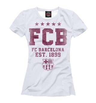 Футболка женская Барселона (2904)