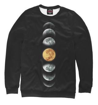 Одежда с принтом Фазы лун