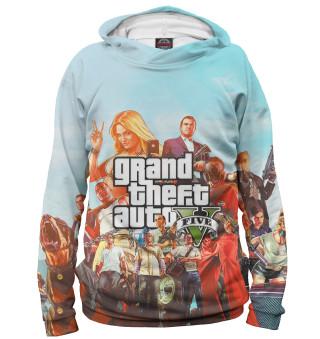 Худи женское Grand Theft Auto V