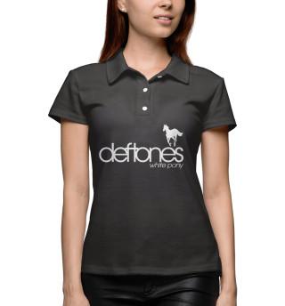 Поло женское Deftones (218)