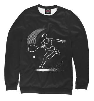 Одежда с принтом Теннис спорт