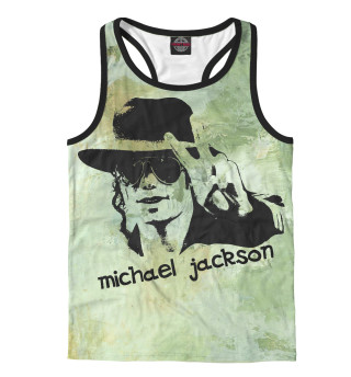 Майка борцовка мужская Michael Jackson (7081)