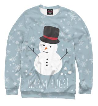Одежда с принтом Снеговик (954046)